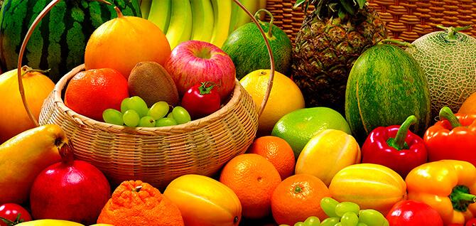 кушать фрукты и овощи