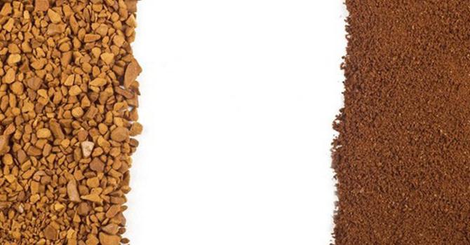 Растворимый кофе или заварной
