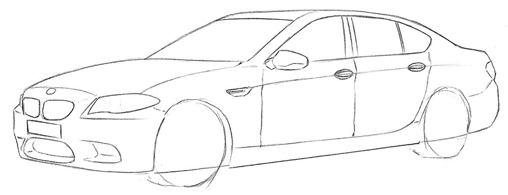 Малюнок машини