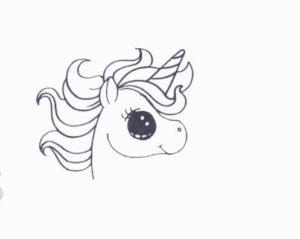 Як намалювати єдинорога