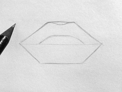 Як намалювати губи