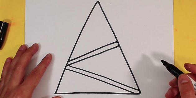 Як намалювати ялинку