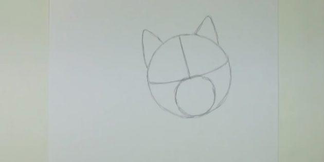 Як намалювати хаскі