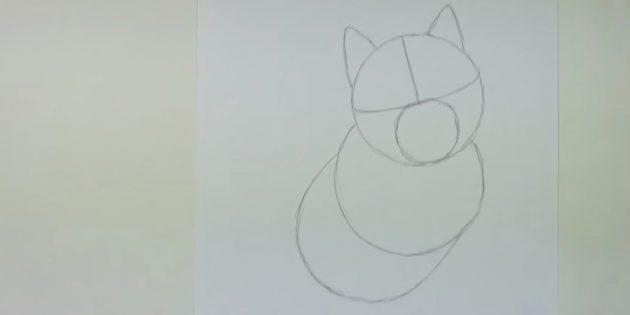 Як намалювати хаскі поетапно