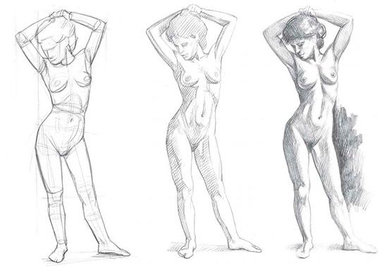Як намалювати людину поетапно