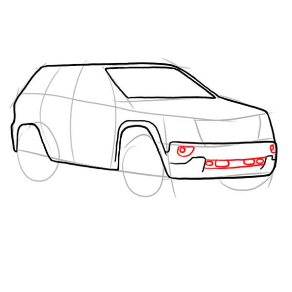 Як намалювати джип