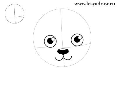 Як намалювати зайчика