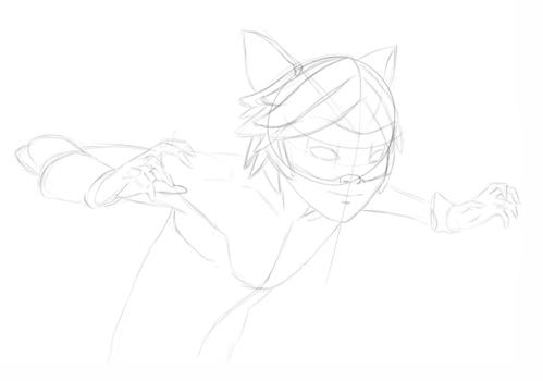 Як намалювати Супер Кота