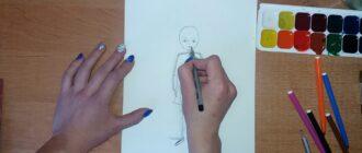 Як намалювати дівчинку