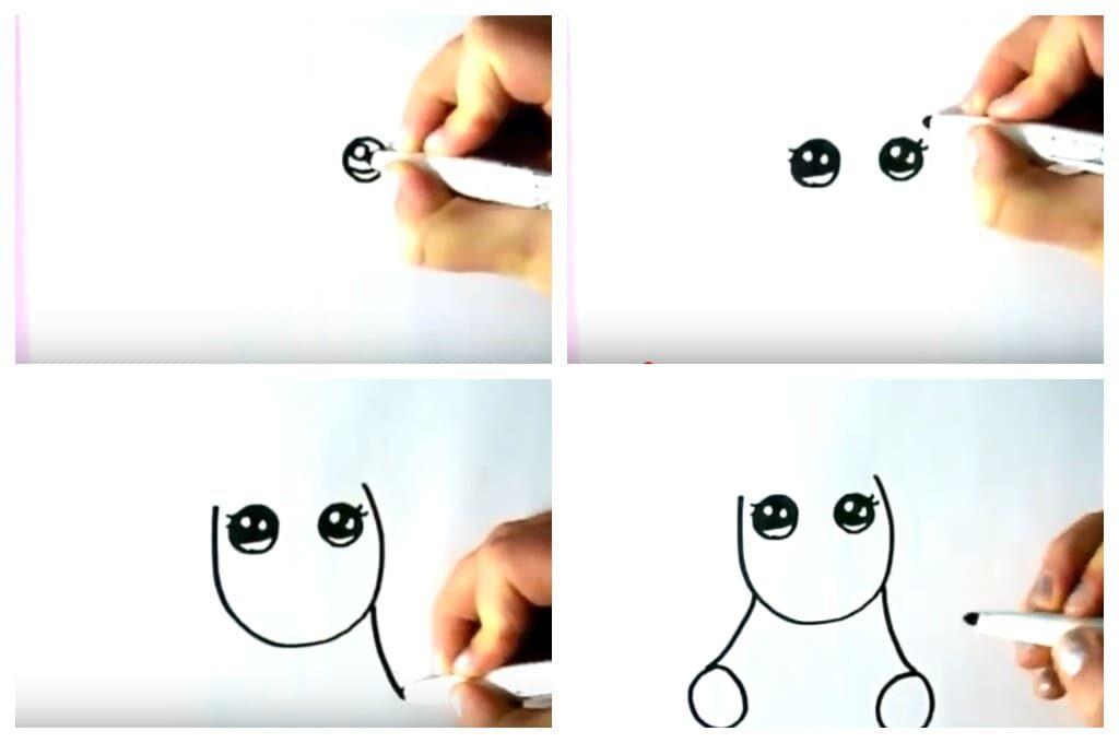 Як намалювати єдинорога поетапно