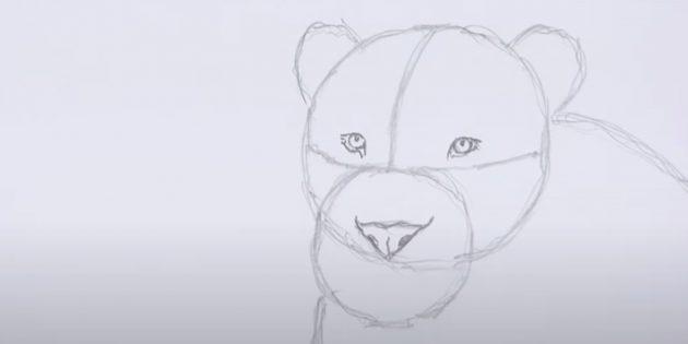 Малюємо лева