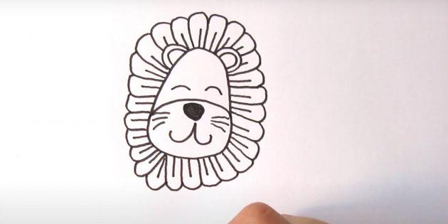 Милий лев