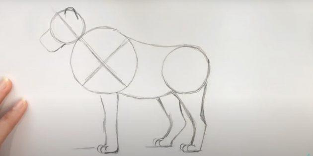 Малюнок лева