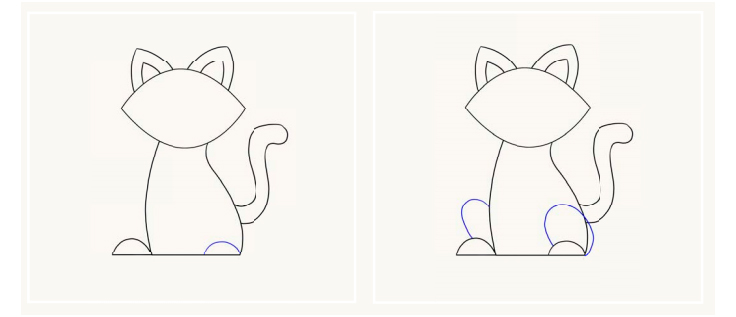 Малюнок милого котика