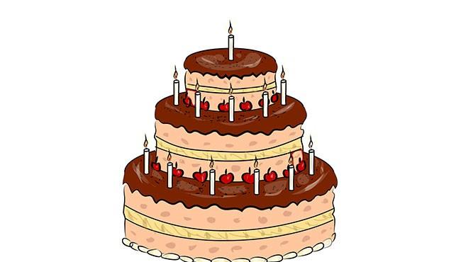 Торт для змальовки