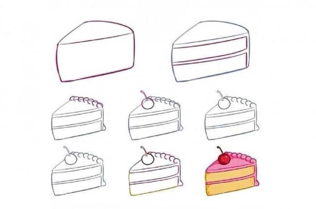 Шматочок торта