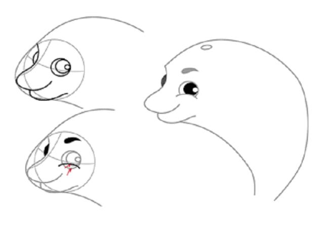Малюємо дельфіна