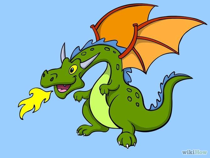Як намалювати дракона