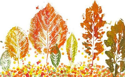 Пейзаж осінь