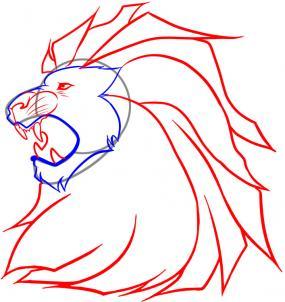 Голова лева