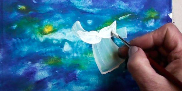 Як намалювати ангела поетапно
