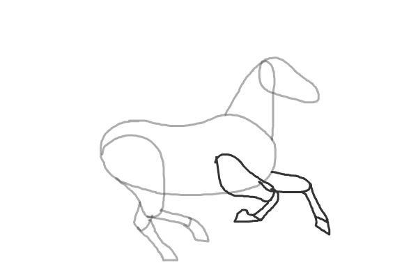 Як намалювати коня