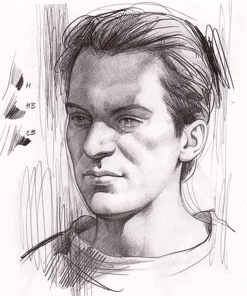 Як намалювати лице людини