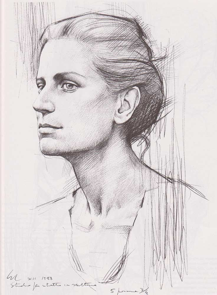 Малюнок лице людини