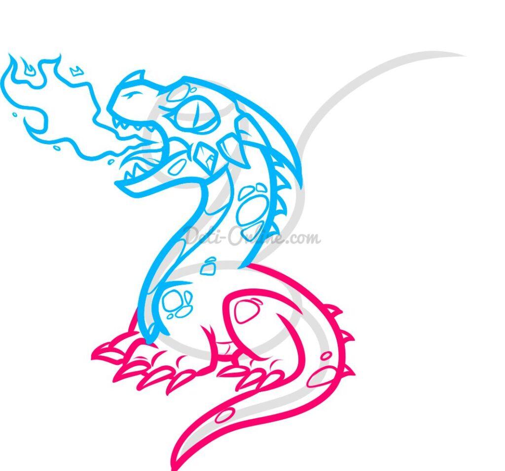 Вогнедишний дракон