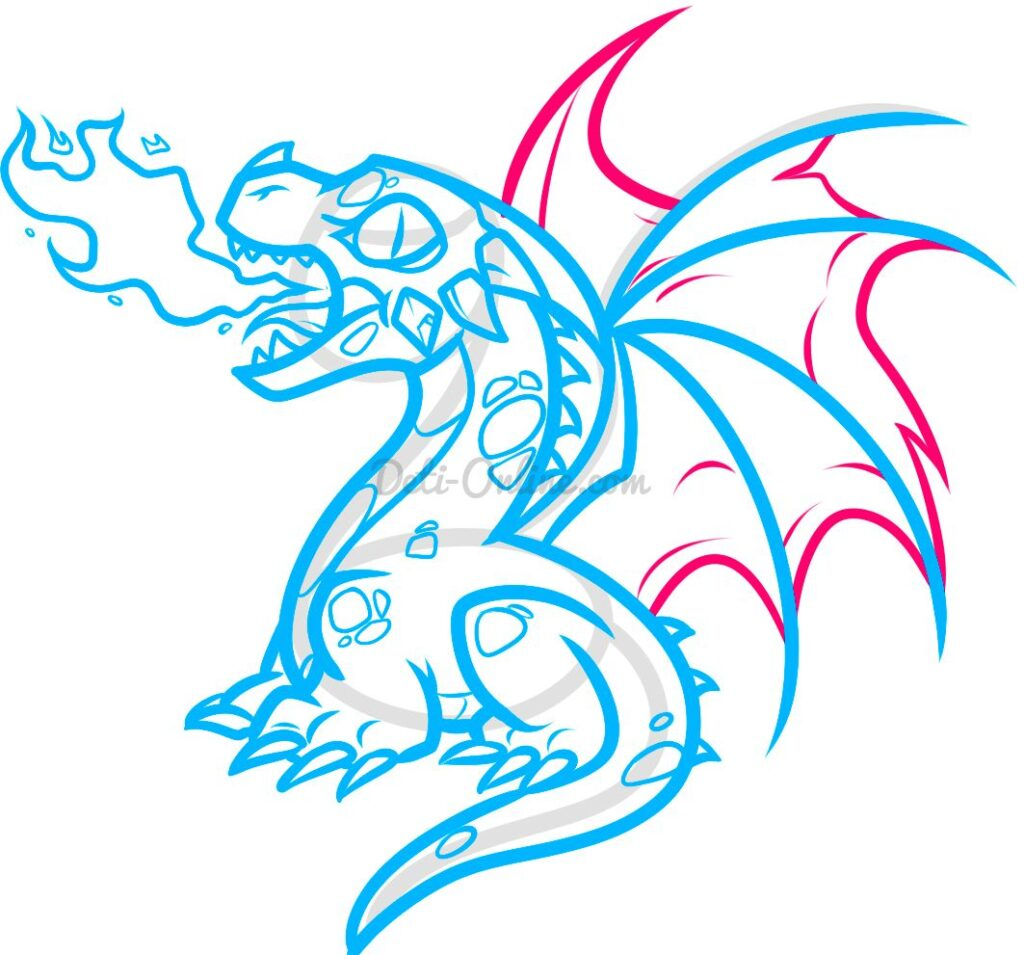 Малюнок дракона