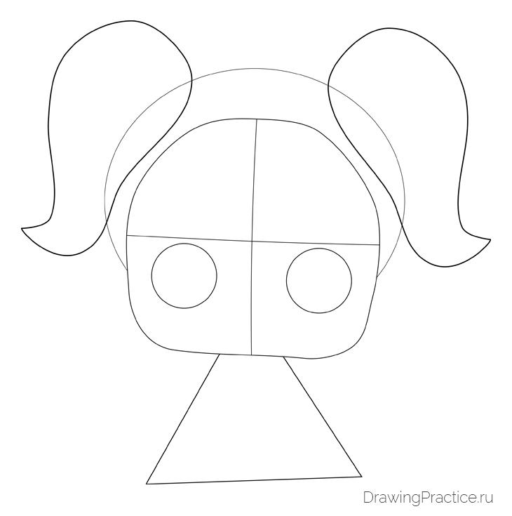 Як намалювати ляльку лол