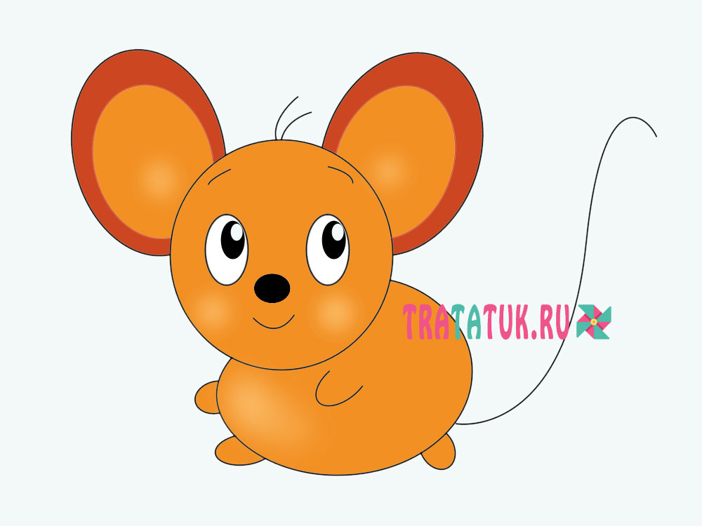 Малюнок миші
