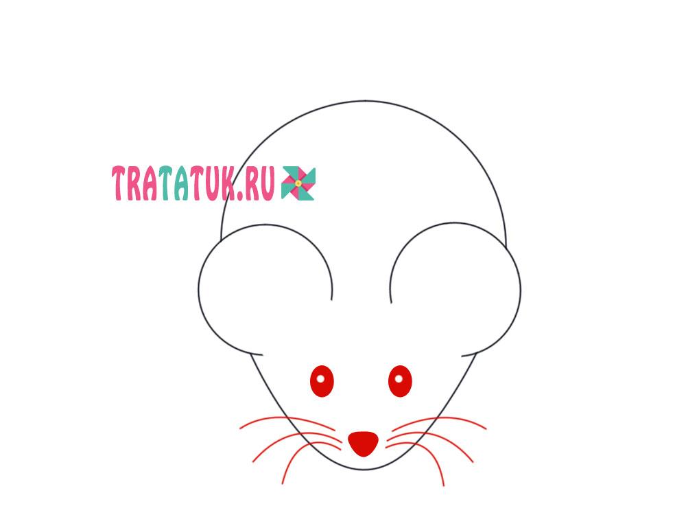 Малюнок мишки