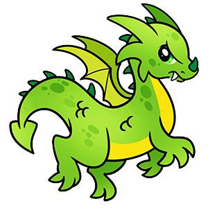 Як намалювати простого дракона