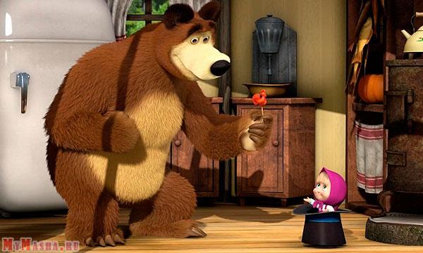 Як намалювати Машу і Ведмедя