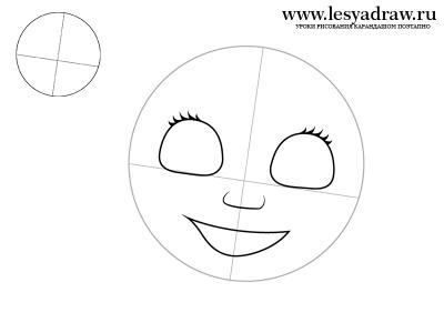 Як намалювати Машу