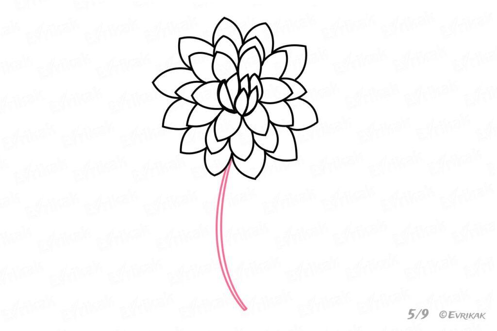 Осіння квітка