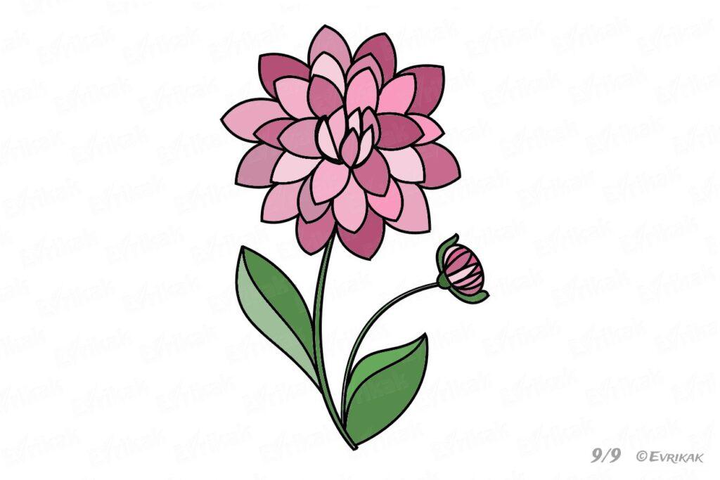 Я к намалювати квіти
