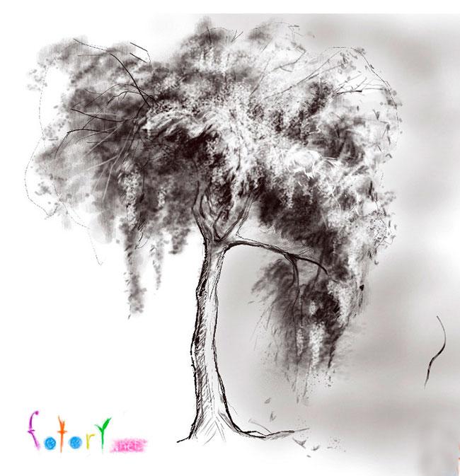 Як намалювати дерево