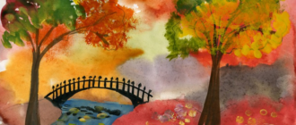 Як намалювати осінь