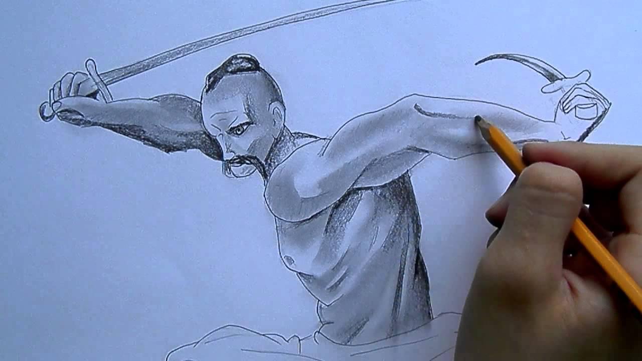 Як намалювати козака