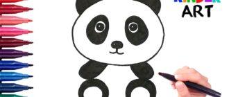 Як намалювати панду