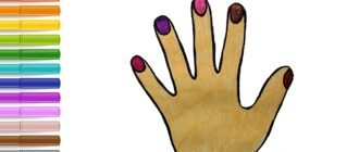 Як намалювати руки