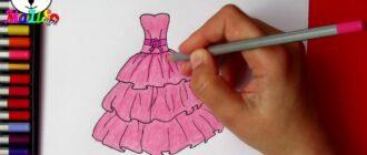 Як намалювати плаття