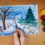 Як намалювати пейзаж