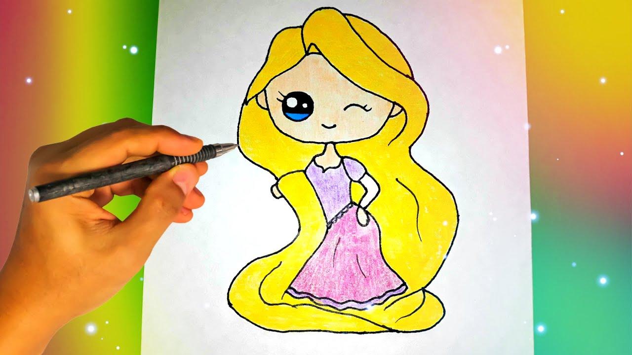 Як намалювати принцесу