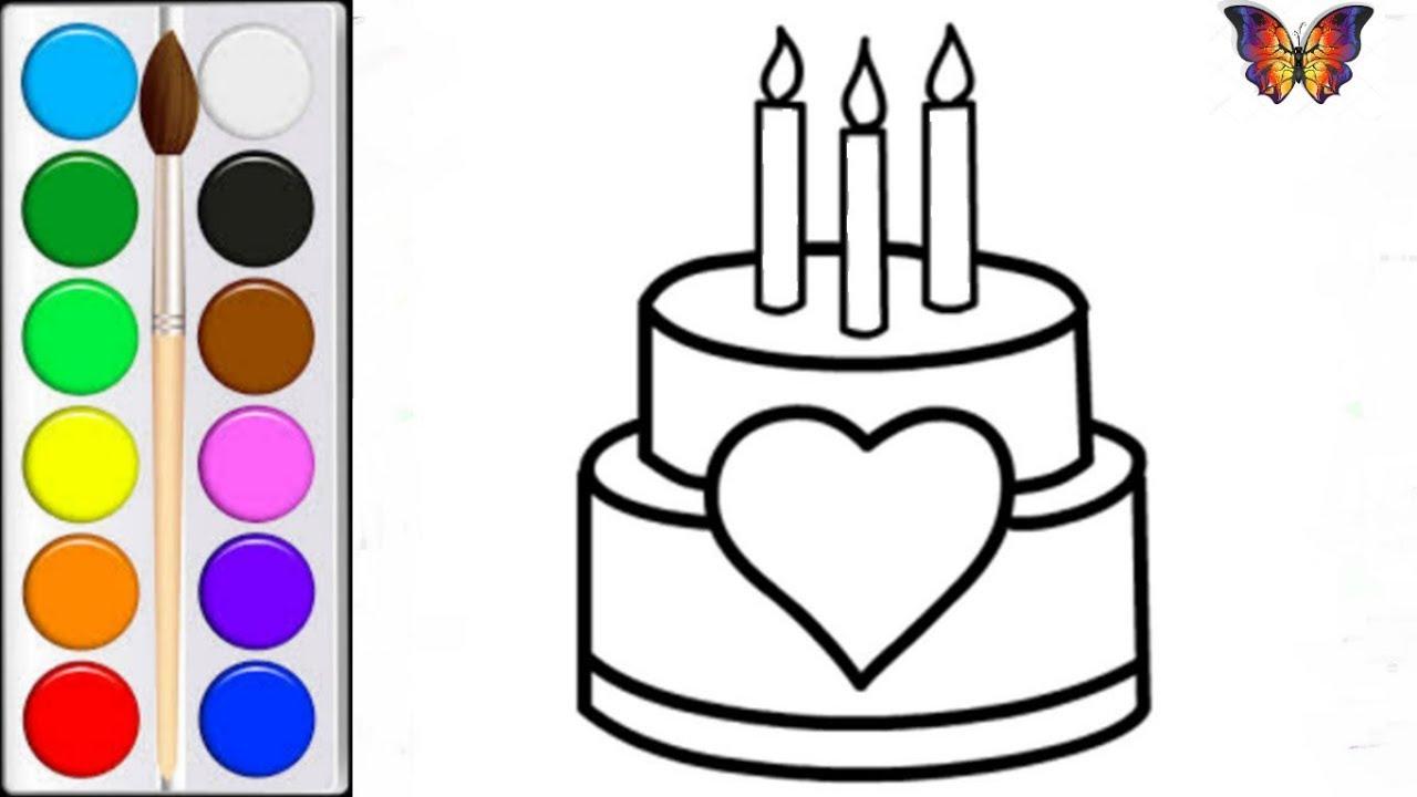 Як намалювати торт