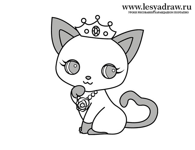 Мила кішечка