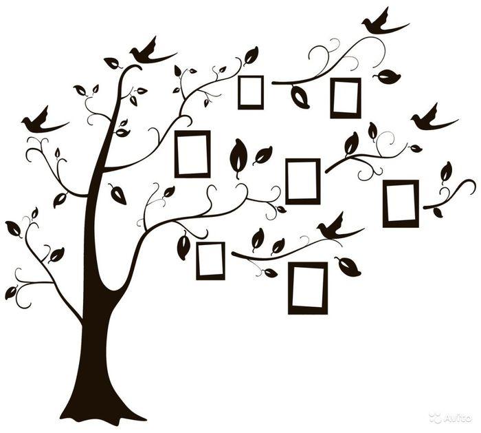 Як намалювати родинне дерево
