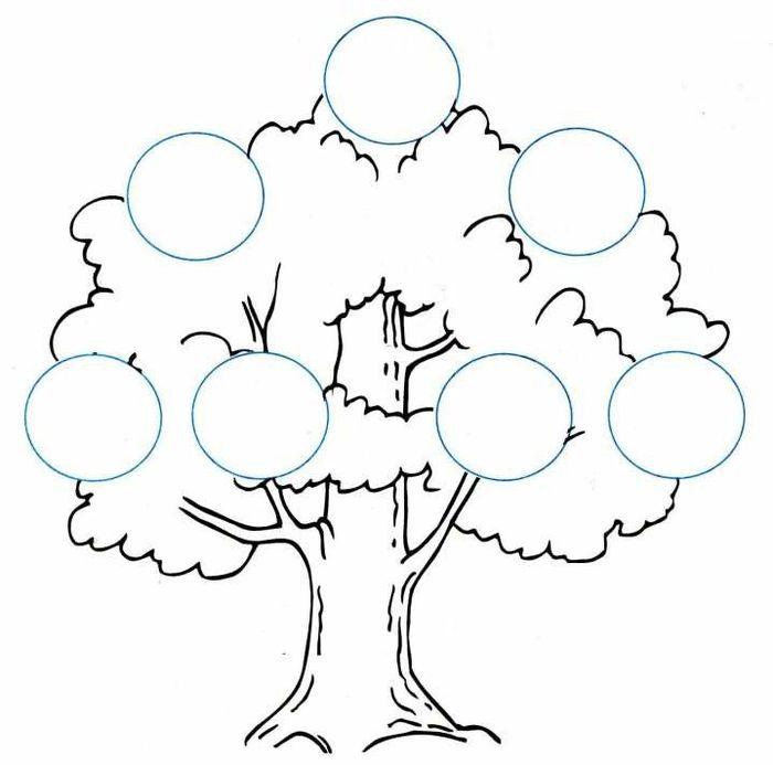 Малюнок родинного дерева